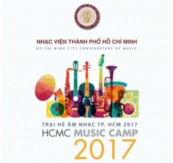 Khai mạc Trại hè âm nhạc Thành phố Hồ Chí Minh 2017  - ảnh 1