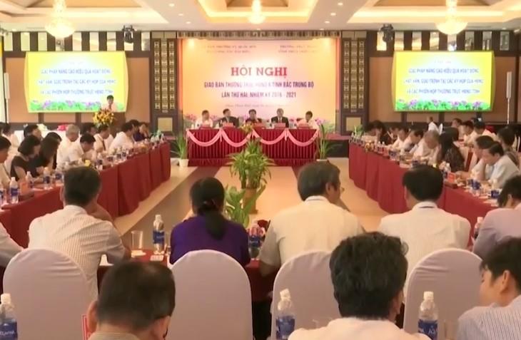 Hội nghị giao ban Thường trực Hội đồng nhân dân 6 tỉnh Bắc Trung bộ  - ảnh 1