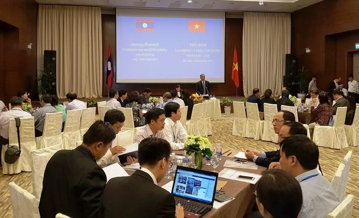 55 năm quan hệ Việt Nam - Lào: Tăng cường hợp tác về lao động, xã hội  - ảnh 1