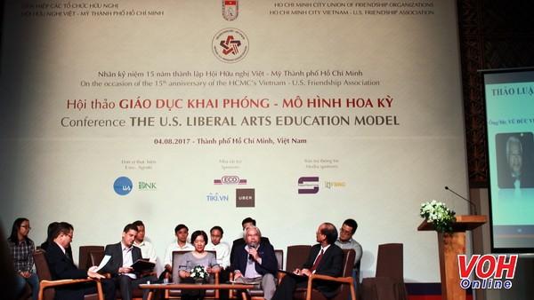 Thành phố Hồ Chí Minh và Hoa Kỳ trao đổi về mô hình mới trong giáo dục  - ảnh 1