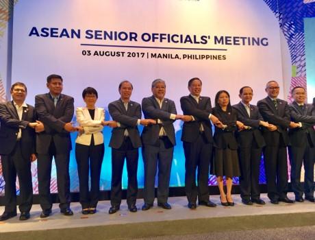 Khai mạc Hội nghị Hội nghị Bộ trưởng Ngoại giao ASEAN lần thứ 50 (AMM-50) - ảnh 1