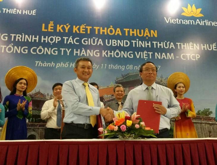 Vietnam Airlines quảng bá hình ảnh, điểm đến của du lịch Huế - ảnh 1