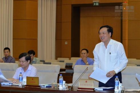 Thông qua Nghị quyết về việc thành lập Tòa án,Viện kiểm sát nhân dân thành phố Sầm Sơn, Thanh Hóa - ảnh 1