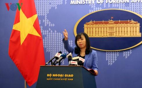 Việt Nam đề nghị Trung Quốc không lặp lại các hành động làm phức tạp tình hình tại Biển Đông  - ảnh 1