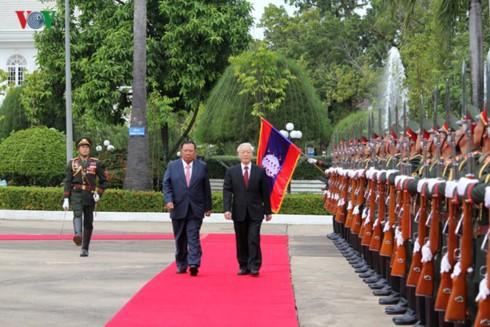 Quan hệ đặc biệt Việt Nam - Lào mãi mãi xanh tươi, đời đời bền vững  - ảnh 1