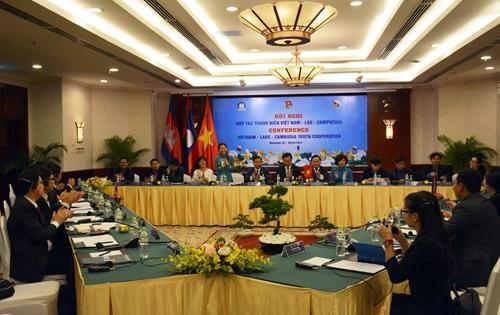 Đại biểu thanh niên 3 nước Việt Nam-Lào-Campuchia bàn giải pháp tăng cường thắt chặt mối quan hệ - ảnh 1