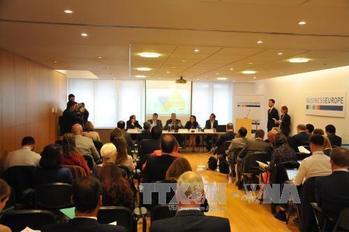 Nỗ lực thúc đẩy Hiệp định Tự do Thương mại Việt Nam-EU  - ảnh 1