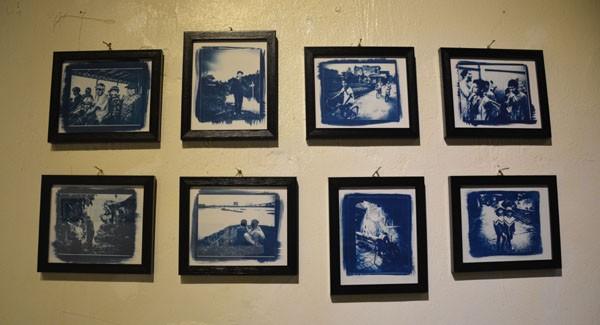 """Triển lãm """"Việt Nam qua ảnh đơn sắc xanh"""" của tác giả người Pháp Julie Vola - ảnh 2"""