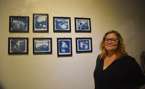 """Triển lãm """"Việt Nam qua ảnh đơn sắc xanh"""" của tác giả người Pháp Julie Vola - ảnh 1"""
