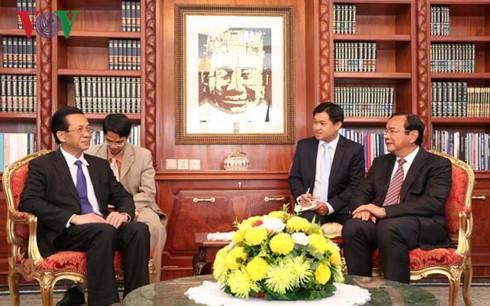 Góp phần xây dựng quan hệ đoàn kết hữu nghị truyền thống giữa hai nước Việt Nam-Campuchia - ảnh 1
