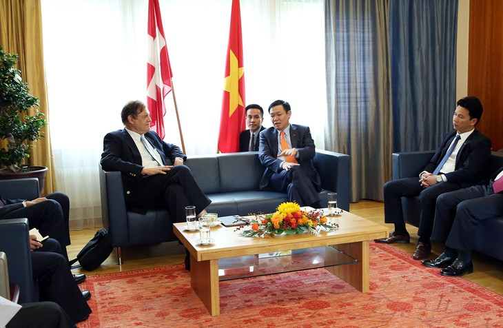 Phó Thủ tướng Vương Đình Huệ làm việc với lãnh đạo cấp cao trong Chính phủ và Nghị viện của Thuỵ Sỹ - ảnh 1