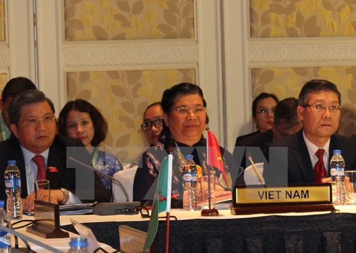 Phó Chủ tịch Quốc hội Tòng Thị Phóng tham dự phiên họp Ban chấp hành AIPA-38  - ảnh 1