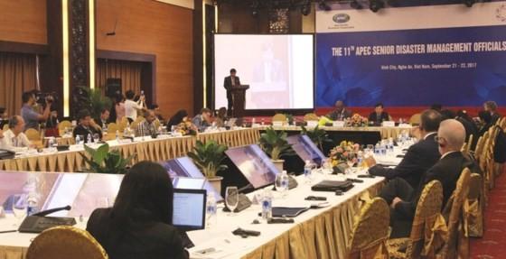 Bế mạc Hội nghị các quan chức cao cấp APEC về quản lý thiên tai - ảnh 1