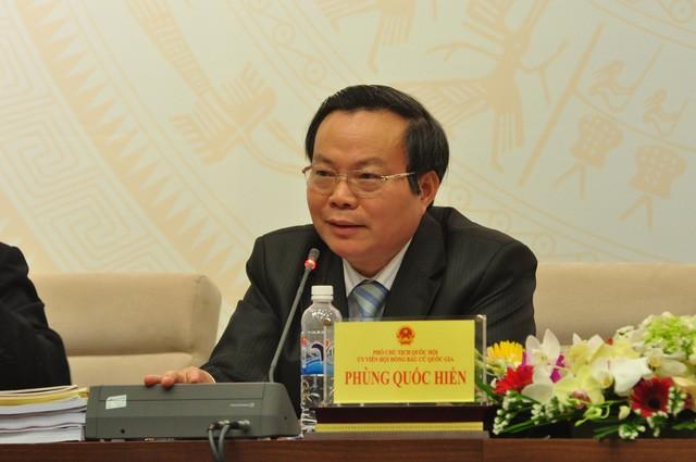 Phó Chủ tịch Quốc hội Phùng Quốc Hiển tiếp xúc cử tri tại Lai Châu - ảnh 1