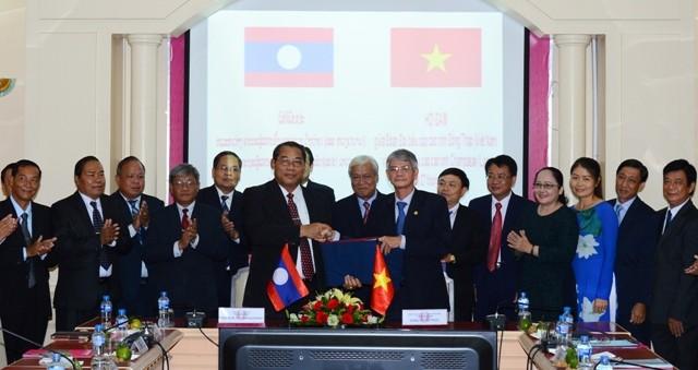 Đồng Tháp và tỉnh Champasak (Lào) hợp tác trên nhiều lĩnh vực - ảnh 1