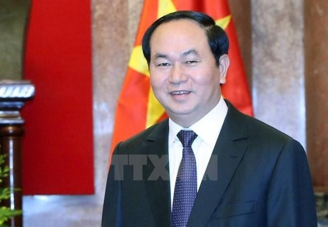 Chủ tịch nước Trần Đại Quang gửi Thư chúc Tết Trung thu 2017  - ảnh 1