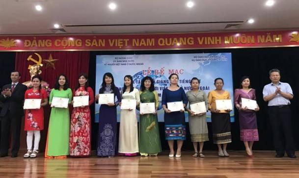 Gieo… để tiếng Việt ngày càng phát triển ở nước ngoài - ảnh 2