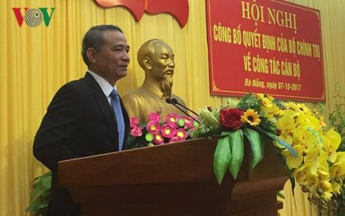 Bộ Chính trị phân công ông Trương Quang Nghĩa làm Bí thư Thành ủy Đà Nẵng - ảnh 1