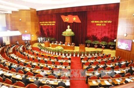 Hội nghị lần thứ sáu Ban Chấp hành Trung ương Đảng khóa XII tiếp tục ngày làm việc thứ 4 - ảnh 1