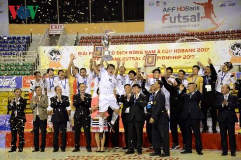 Kết thúc giải bóng đá Fusal Đông Nam Á 2017 - ảnh 1