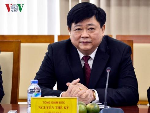 Lãnh đạo Đài Tiếng nói Việt Nam tiếp đoàn đại biểu văn hóa, báo chí Quảng Tây (Trung Quốc) - ảnh 2