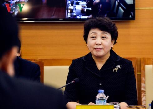 Lãnh đạo Đài Tiếng nói Việt Nam tiếp đoàn đại biểu văn hóa, báo chí Quảng Tây (Trung Quốc) - ảnh 3