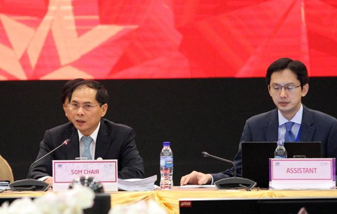 Khai mạc Hội nghị Các quan chức cấp cao APEC (CSOM) - ảnh 1