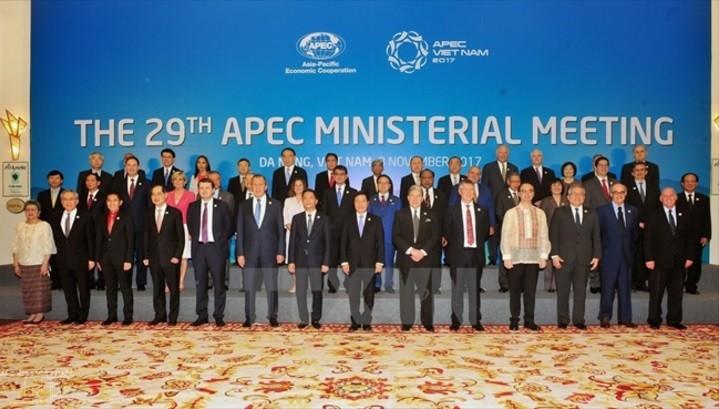 Tuyên bố chung Hội nghị liên Bộ trưởng Ngoại giao - Kinh tế APEC 2017 - ảnh 1