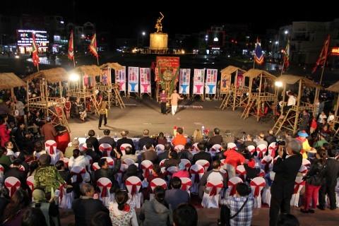 Nghệ thuật bài Chòi của Việt Nam trở thành Di sản văn hóa phi vật thể đại diện của nhân loại - ảnh 1