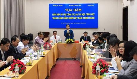 Chung tay gìn giữ và phát triển tiếng Việt trong cộng đồng người Việt Nam ở nước ngoài  - ảnh 1