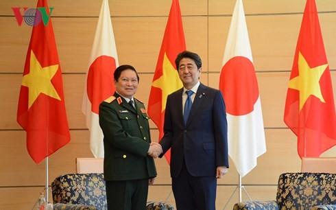 Việt Nam và Nhật Bản ký Tuyên bố Tầm nhìn chung về hợp tác Quốc phòng - ảnh 1