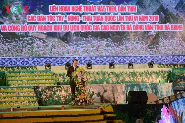 Tôn vinh loại hình văn hóa nghệ thuật đặc sắc của các dân tộc Tày - Nùng - Thái - ảnh 3