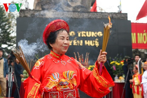 เทศกาลเนินโด๊งดาในกรุงฮานอย - ảnh 8