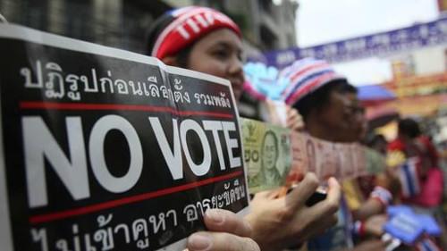 ศาลรัฐธรรมนูญไทยไม่รับคำร้องการเลือกตั้ง 2 กุมภาพันธ์ เป็นโมฆะ - ảnh 1