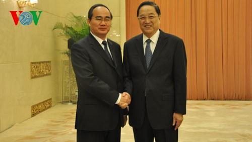 เวียดนามและจีนส่งเสริมความร่วมมือในทุกด้าน - ảnh 1