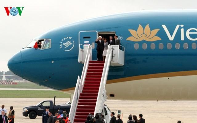 เวียดนาม – สหรัฐแลกเปลี่ยนวิสัยทัศน์และมุ่งสู่อนาคต - ảnh 1