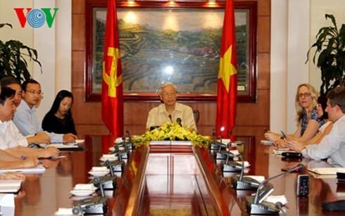เวียดนาม – สหรัฐแลกเปลี่ยนวิสัยทัศน์และมุ่งสู่อนาคต - ảnh 2
