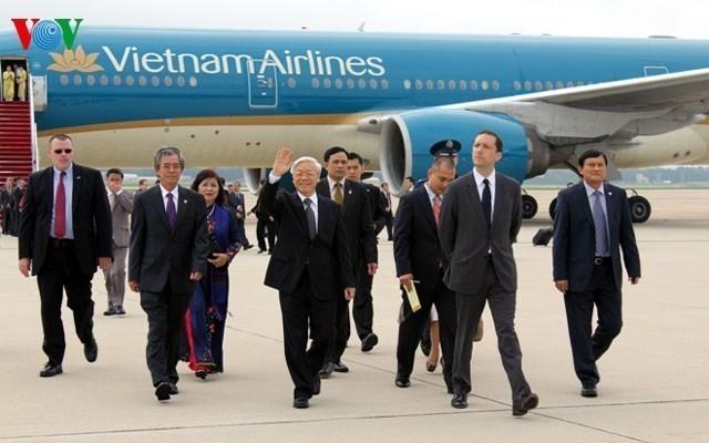 20 ปีความสัมพันธ์ระหว่างเวียดนามกับสหรัฐ ระยะเวลาสั้นแต่มีการพัฒนาที่ก้าวไกล - ảnh 1