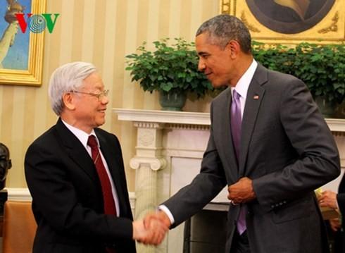 20 ปีความสัมพันธ์ระหว่างเวียดนามกับสหรัฐ ระยะเวลาสั้นแต่มีการพัฒนาที่ก้าวไกล - ảnh 2