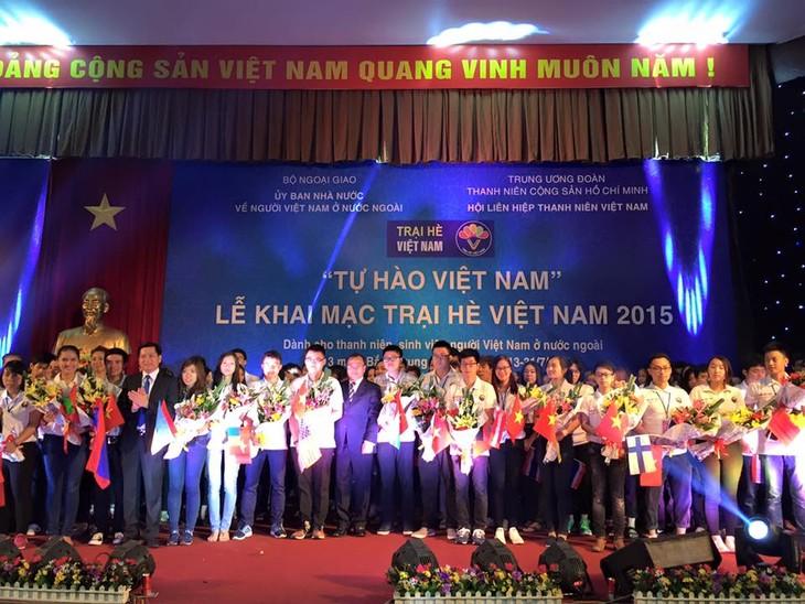 เปิดค่ายฤดูร้อนเวียดนามปี 2015 - ảnh 1