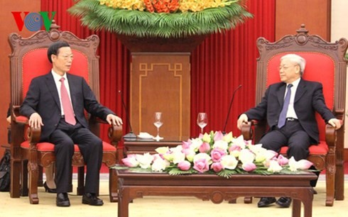 เวียดนามให้ความสำคัญต่อการพัฒนาความสัมพันธ์หุ้นส่วนร่วมมือยุทธศาสตร์ในทุกด้านเวียดนาม – จีน - ảnh 1