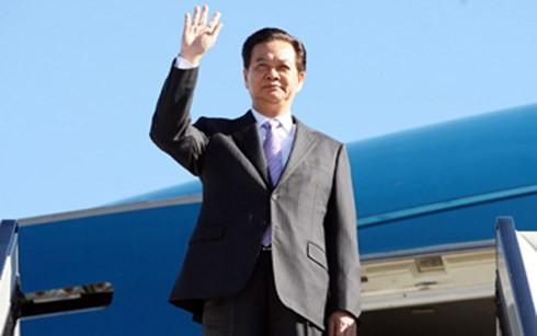 นายกรัฐมนตรีเหงียนเติ๊นหยุงเยือนประเทศไทยอย่างเป็นทางการ - ảnh 1