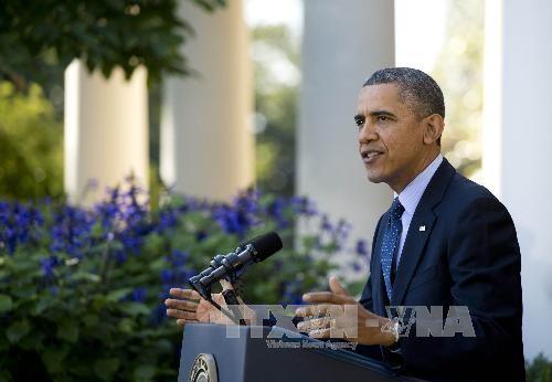 """ประธานาธิบดีสหรัฐวีโต้ร่างกฎหมายยกเลิกโครงการ """"โอบามาแคร์"""" - ảnh 1"""