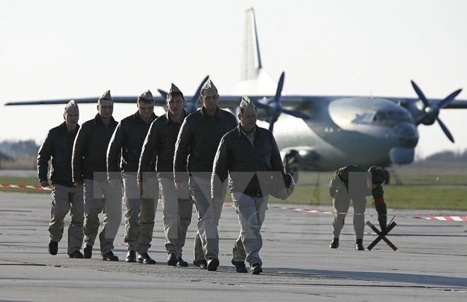 สหรัฐยืนยัน เครื่องบินประจัญบานของรัสเซียได้ออกจากซีเรียแล้ว - ảnh 1