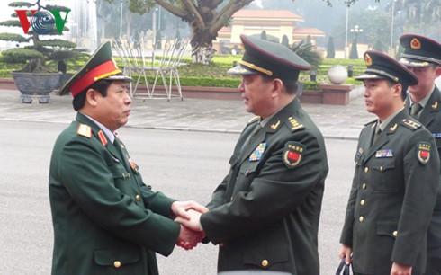 การพบปะสังสรรค์มิตรภาพกลาโหมในเขตชายแดนเวียดนาม-จีนครั้งที่ 3 - ảnh 1