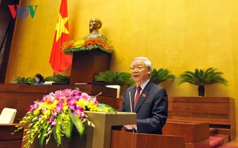 การประชุมรัฐสภาสมัยที่ 14 จะสร้างนิมิตรหมายต่อกระบวนการพัฒนาของรัฐสภาเวียดนาม - ảnh 1