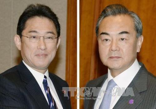 ญี่ปุ่นและจีนวางแผนเจรจาระดับรัฐมนตรีต่างประเทศ - ảnh 1
