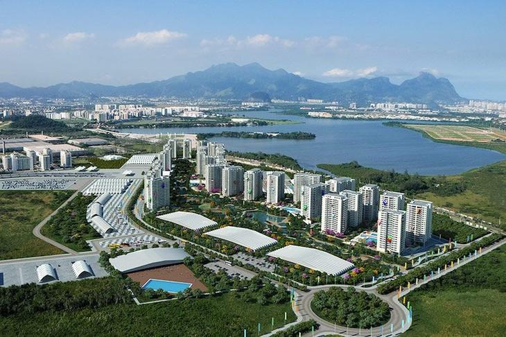 เปิดหมู่บ้านนักกีฬาโอลิมปิก 2016 อย่างเป็นทางการ - ảnh 1