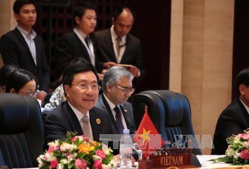 เวียดนามยืนยันอีกครั้งเกี่ยวกับจุดยืนธำรงสันติภาพ เสถียรภาพ ความมั่นคง การเดินเรือและการบินอย่างเสรี - ảnh 1