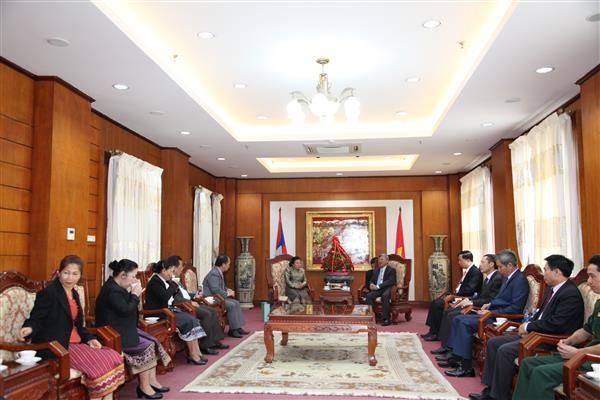 ประชาชนลาวมีความภาคภูมิใจต่อชัยชนะและผลสำเร็จของเวียดนามในตลอด 71 ที่ผ่านมา - ảnh 1
